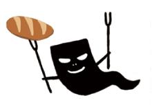 ハロウィンのおばけのキャラクターイラスト 組立通信LLC.